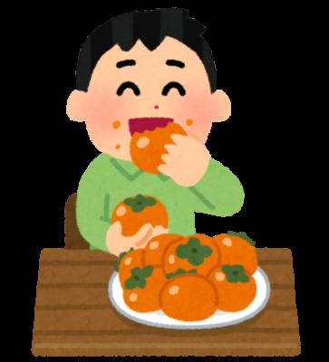隣の客はよく柿食う客だ